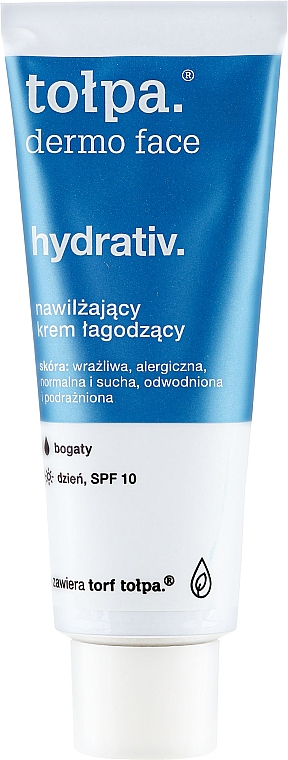 Feuchtigkeitsspendende Gesichtscreme LSF 10 - Tolpa Dermo Face Hydrativ SPF 10 — Bild N5