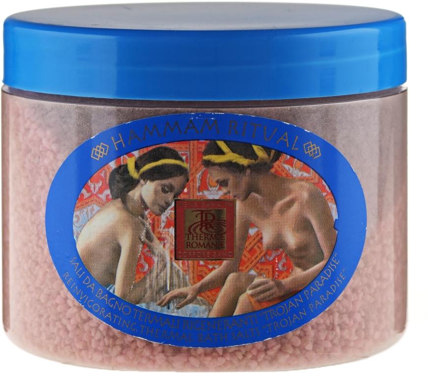 Regenerierendes Thermalbadesalz - Thermae Romanae Hammam Ritual Salt Bath Troyan Paradise — Bild N1