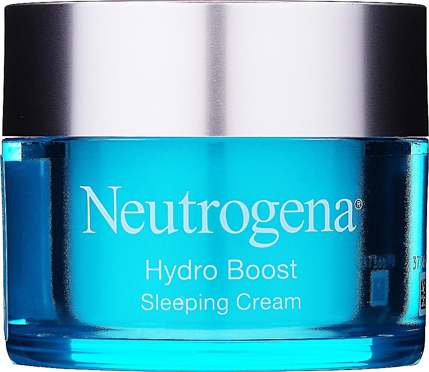 Feuchtigkeitsspendende Nachtcreme für das Gesicht mit Hyaluronsäure und pflanzlicher Trehalose - Neutrogena Hydro Boost Sleeping Cream