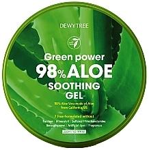 Düfte, Parfümerie und Kosmetik Beruhigendes Körpergel mit Aloe Vera - Dewytree Green Power Aloe Soothing Gel