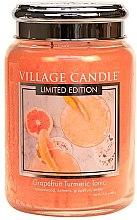 Duftkerze Grapefruit Turmeric Tonic - Village Candle Grapefruit Turmeric Tonic Glass Jar — Bild N2
