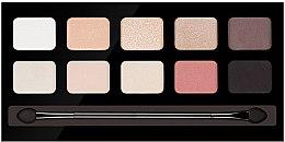 Düfte, Parfümerie und Kosmetik Lidschattenpalette mit 10 Farben - Pierre Rene Palette Match System Eyeshadow Nude