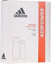 Düfte, Parfümerie und Kosmetik Duftset - Adidas Adipower Women (Duschgel 250ml + Deodorant 150ml)