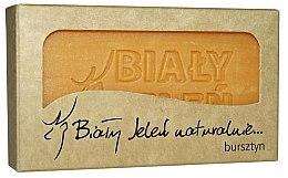 Düfte, Parfümerie und Kosmetik Hypoallergene Naturseife mit Bernsteinextrakt - Bialy Jelen Hypoallergenic Soap Amber