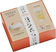 Düfte, Parfümerie und Kosmetik Gesichtspflegeset - Shiseido Clear Mega Hydrating Cream Set (Gesichtscreme 50ml + Gesichtsgel 30ml + Augenessenz 0,3ml + Gesichtsprimer 0,3ml + Stickers)