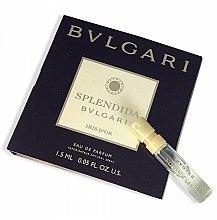 Düfte, Parfümerie und Kosmetik Bvlgari Splendida Iris D`Or - Eau de Parfum (Probe)