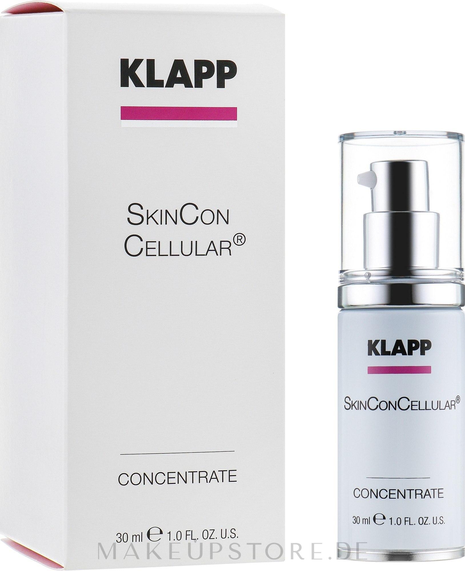 Feuchtigkeitsspendendes Gesichtskonzentrat - Klapp Skin Con Cellular Concentrate — Bild 30 ml