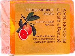 Glycerinseife Fresh Citrus - Le Cafe de Beaute Glycerin Soap — Bild N1