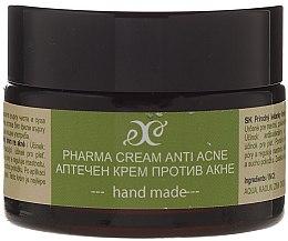 Düfte, Parfümerie und Kosmetik Handgemachte Anti-Akne Gesichtscreme - Hristina Cosmetics Pharma Cream Anti Akne