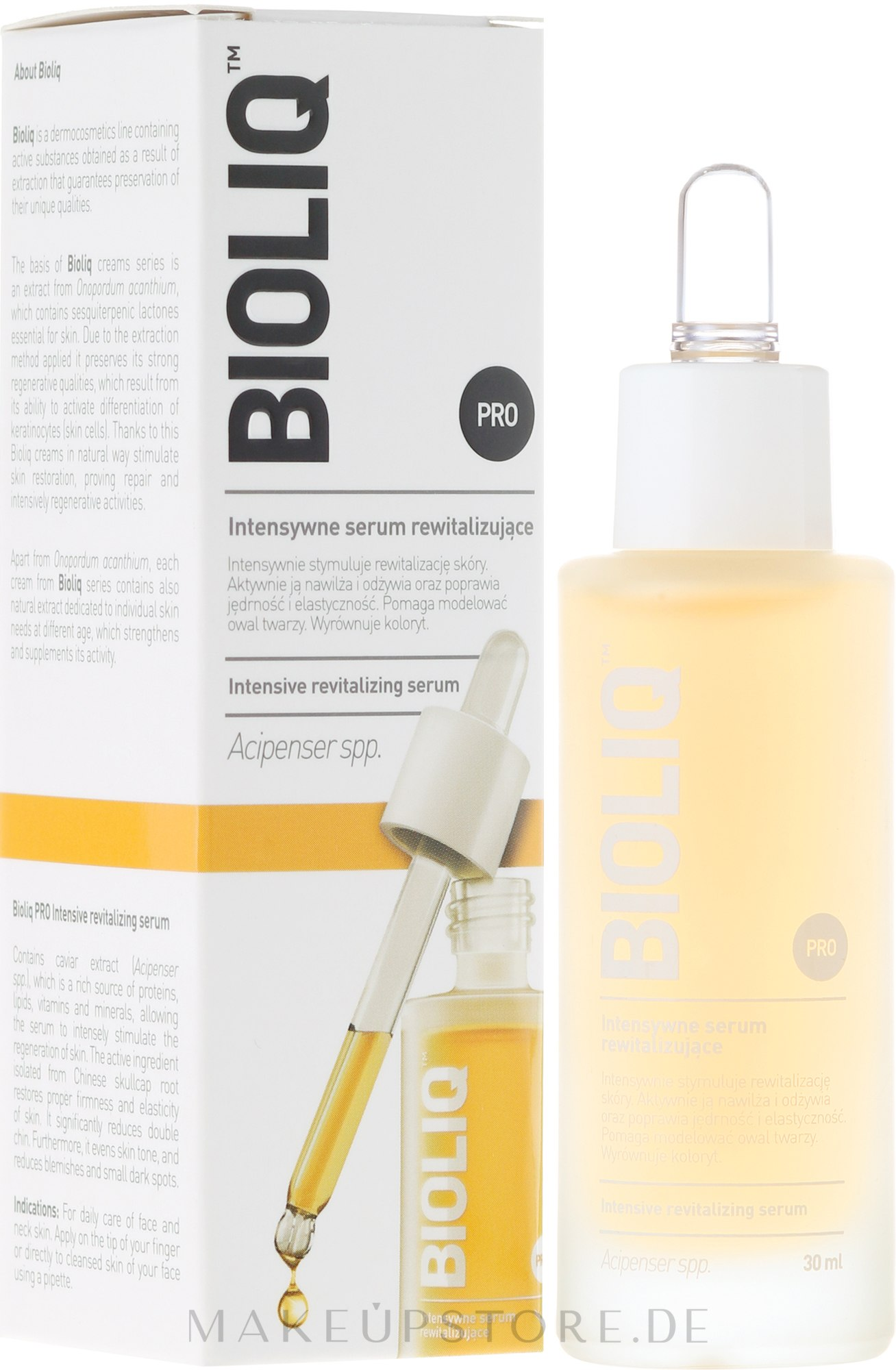 Anti-Aging Gesichtsserum - Bioliq Pro Intensive Revitalizing Serum — Bild 30 ml
