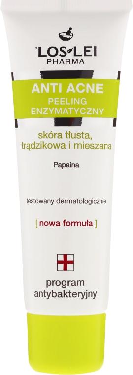 Enzymatisches Anti-Akne Gesichtspeeling für fettige und Mischhaut - Floslek Anti Acne Peeling — Bild N2