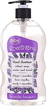 Düfte, Parfümerie und Kosmetik Antibakterielles Handgel mit Alkohol und Lavendelduft - Bluxcosmetics Naturaphy Alcohol Hand Sanitizer With Lavender Fragrance