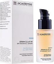 Düfte, Parfümerie und Kosmetik Anti-Müdigkeits-Elixier für das Gesicht mit Aprikosenextrakt - Academie 8h Radiance Serum