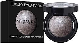Düfte, Parfümerie und Kosmetik Gebackener Mono-Lidschatten - Mesauda Milano Luxury Eyeshadow Mono