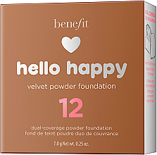 Puder-Foundation - Benefit Hello Happy Velvet Powder Foundation — Bild N14