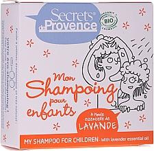 Düfte, Parfümerie und Kosmetik Festes Shampoo mit Lavendel - Secrets De Provence My Children Shampoo Lavender Essential Oil