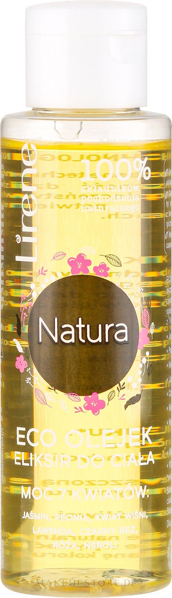 Körperelixier mit 7 Bio Blütenölen - Lirene Natura Eco Essential Oil — Bild 100 ml