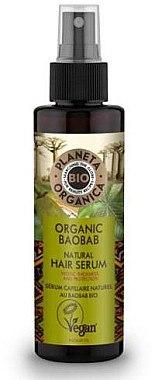 Stärkendes Haaserum mit Bio Boababöl - Planeta Organica Organic Baobab Natural Hair Serum — Bild N1