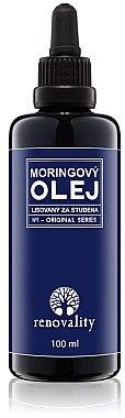 Kaltgepresstes Moringaöl für Körper und Gesicht - Renovality Original Series Moringa Oil — Bild N1