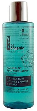 Mizellenwasser mit Inca-Inchi-Öl, Aloe Vera und Gurke - Be Organic Micellar Water — Bild N1