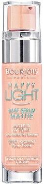 Mattierende Make-Up Base - Bourjois Happy Light Matte Serum Primer — Bild N1