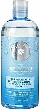 Düfte, Parfümerie und Kosmetik Feuchtigkeitsspendendes Mizellenwasser mit Gurkenextrakt und Aloe Vera - Green Feel's Triple Effect Intensively Moisturizing Micellar Water