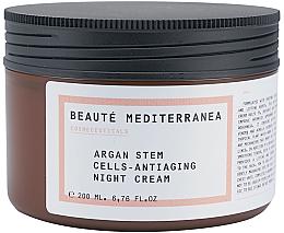 Düfte, Parfümerie und Kosmetik Anti-Aging Nachtcreme mit Arganstammzellen - Beaute Mediterranea Argan Stem Cells Antiaging Night Cream