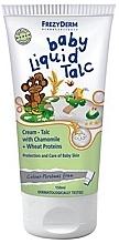 Flüssige und schützende Talkum-Creme mit Kamille und Weizenproteinen für empfindliche Babyhaut - Frezyderm Baby Liquid Talc — Bild N1