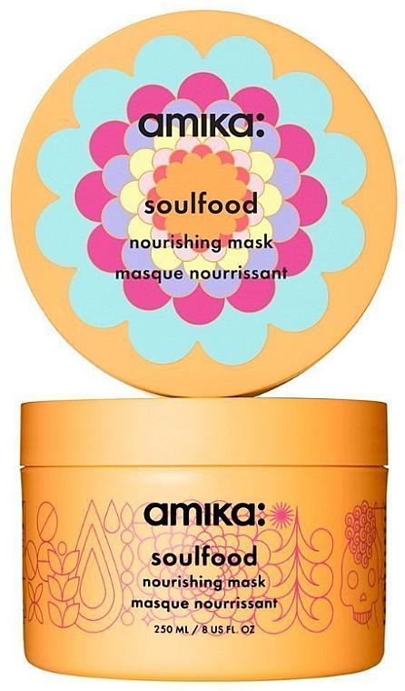 Pflegende Haarmaske mit Jojobaöl - Amika Soulfood Nourishing Mask