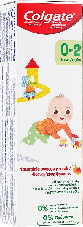 Kinderzahnpasta mit natürlichem Fruchtgeschmack 0-2 Jahre - Colgate Kids Tooth Paste — Bild N1