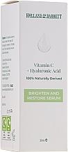 Düfte, Parfümerie und Kosmetik Aufhellendes und regenerierendes Gesichtsserum mit Vitamin C und Hyaluronsäure - Holland & Barrett Vitamin C + Hyaluronic Acid Serum