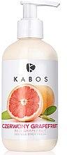 Düfte, Parfümerie und Kosmetik Erfrischende Hand- und Körperlotion mit roter Grapefruit - Kabos Hand & Body Balm