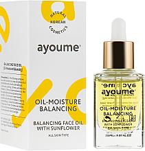 Düfte, Parfümerie und Kosmetik Aufweichendes Gesichtsöl mit Sonnennlume - Ayoume Balancing Face Oil
