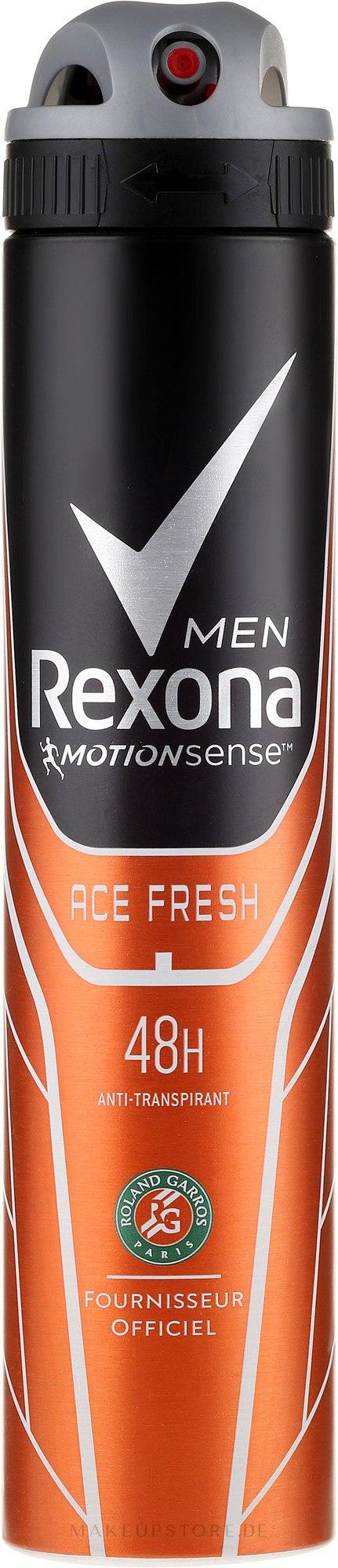 Deospray Antitranspirant - Rexona Ace Fresh Men Deodorant Spray  — Bild 200 ml