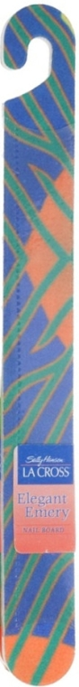 Nagelfeile 18 cm blau-grün-orange - Sally Hansen La Cross Elegant Emery Nail Shaper — Bild N1