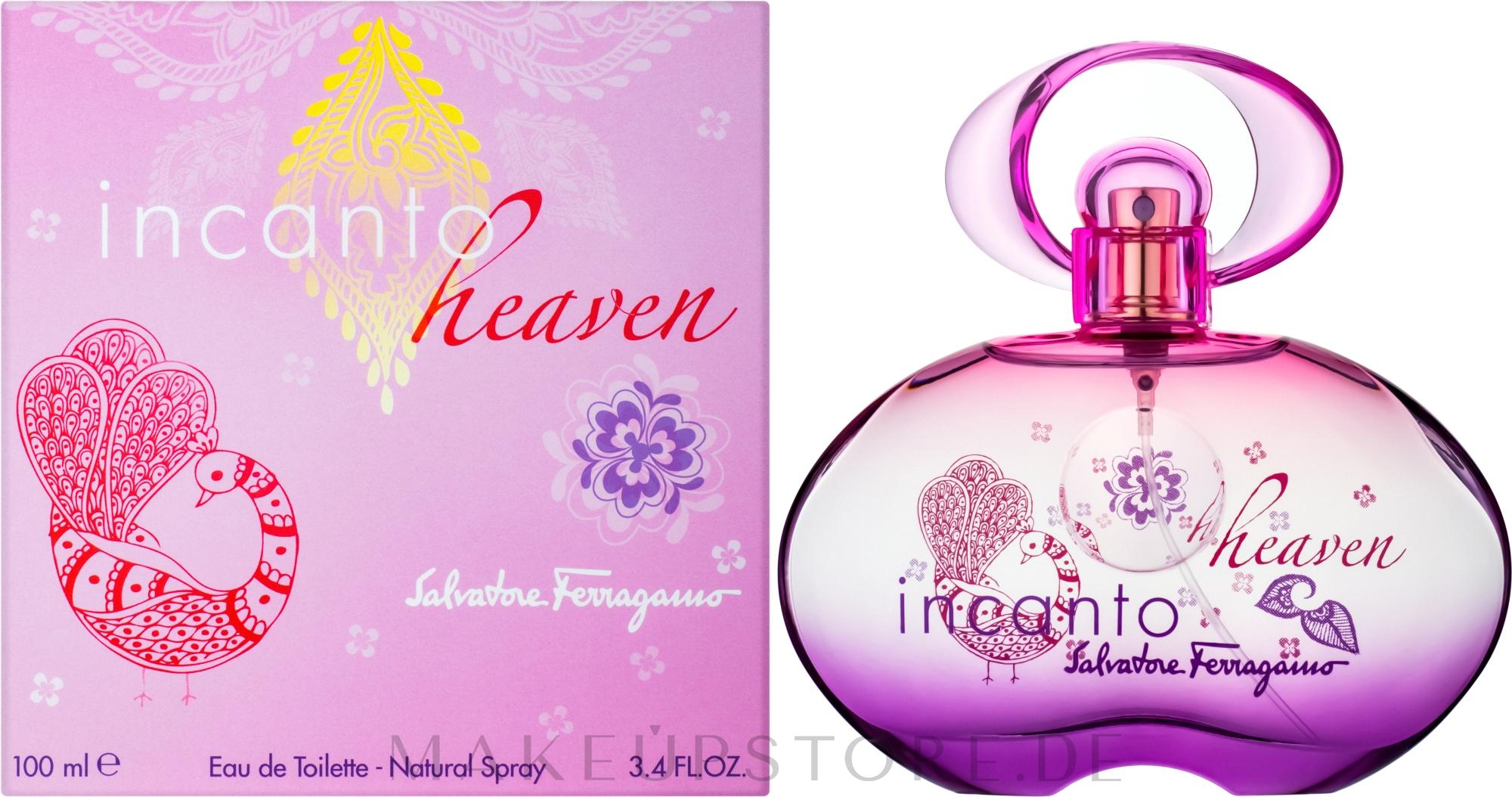 Salvatore Ferragamo Incanto Heaven - Eau de Toilette — Bild 100 ml