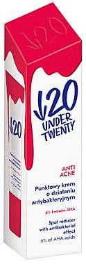 Antibakterielle Gesichtscreme - Under Twenty Anti Acne Cream — Bild N1