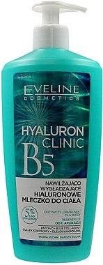 Feuchtigkeitsspendende und glättende Körpermilch mit Hyaluronsäure - Eveline Cosmetics Hyaluron Clinic B5 Milk