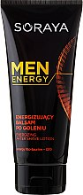 Düfte, Parfümerie und Kosmetik Beruhigender After Shave Balsam - Soraya Men Energy After Shave Lotoin