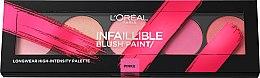 Düfte, Parfümerie und Kosmetik Rouge-Palette - L'Oreal Paris Infaillible Paint Blush Palette