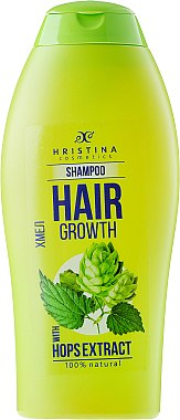 Shampoo mit Hopfenextrakt - Hristina Cosmetics Hair Growth With Hops Extract Shampoo — Bild N1