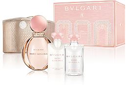 Düfte, Parfümerie und Kosmetik Bvlgari Rose Goldea - Kosmetikset (Eau de Parfum/90ml + Körperlotion/75ml + Duschgel/75ml + Kosmetiktasche)