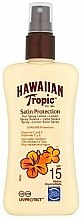 Düfte, Parfümerie und Kosmetik Sonnenschutzlotion-Spray für den Körper SPF 15 - Hawaiian Tropic Protective Sun Spray Lotion SPF 15