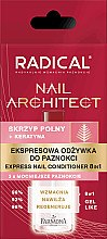 Düfte, Parfümerie und Kosmetik 8in1 Nagelbalsam - Farmona Radical Nail Architect Express 8in1