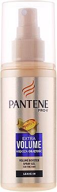 Pflegespray für feines Haar ohne Ausspülen - Pantene Pro-V Spray Gel Volume Booster