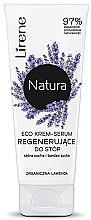 Düfte, Parfümerie und Kosmetik Creme-Serum für trockene Fusshaut mit Lavendel - Lirene Natura Eco Organic Lavender
