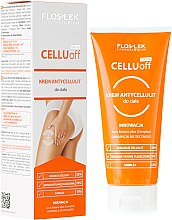 Düfte, Parfümerie und Kosmetik Anti-Cellulite Körpercreme - Floslek Slim Line Anti-Cellulite Body Cream Cellu Off