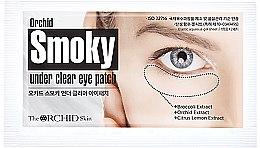 Düfte, Parfümerie und Kosmetik Augenpatches mit Brokkoli- und Orchideenextrakt - The Orchid Skin Smoky Under Clear Eye Patch