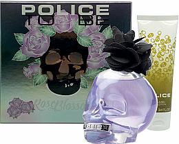Düfte, Parfümerie und Kosmetik Police To Be Rose Blossom - Duftset (Eau de Toilette 100ml + Körperlotion 75ml)
