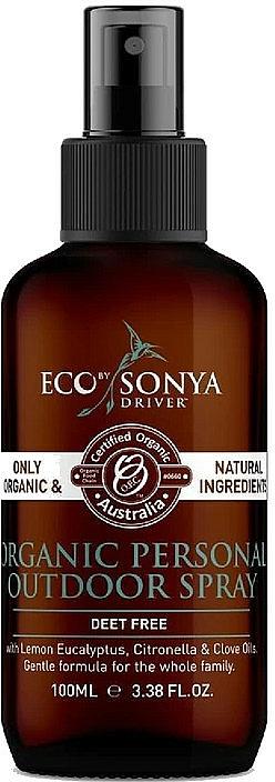 Efrischendes Bio Körper- und Raumspray mit ätherischen Ölen - Eco by Sonya Citronella Personal Outdoor Spray — Bild N1